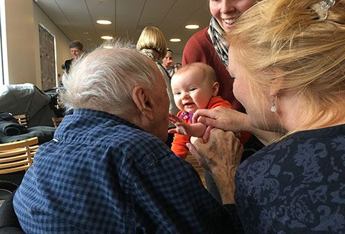 ENGAGE – playing at nursing home